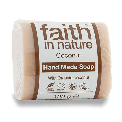 Coconut Soap 100g faith in nature coconut soap 100g ivitality store
