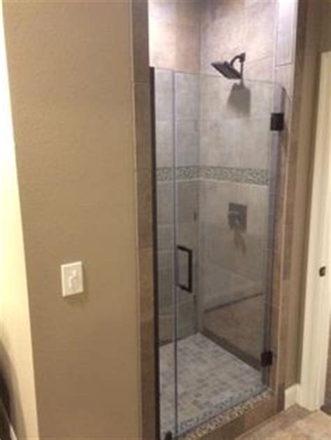 home depot frameless shower door sweep molding around