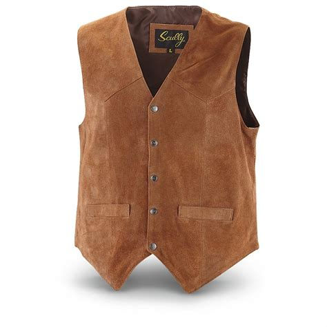 Cowhide Suede by Scully S Cowhide Suede Vest 284915 Vests At