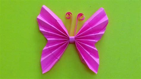 Easy Origami Butterfly - butterfly craft paper find craft ideas
