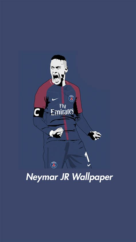 wallpaper neymar cartoon neymar psg android wallpaper live wallpaper hd
