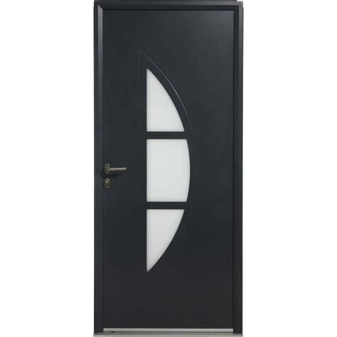 Exceptionnel Prix Isolation Interieure M2 #8: Porte-d-entree-aluminium-omaha-artens-poussant-gauche-h-215-x-l-90-cm.jpg