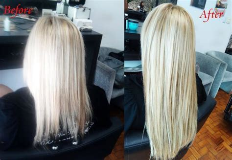 short to long hair extensions hair extensions before and after