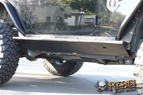 jeep boat sides rock hard 4x4 patriot series quot boat side quot rock sliders w