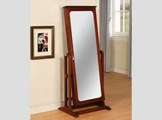 Floor Standing Mirror Jewelry Armoire - Foter Jewelry Armoire With Mirror
