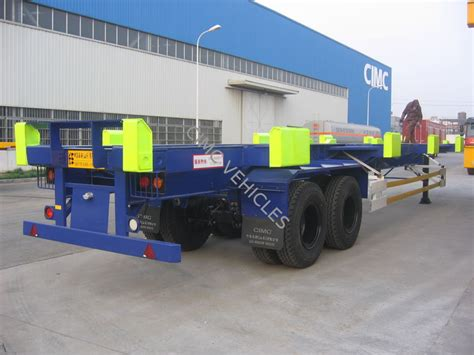 Tz Chassis Gear Box Terminal 45ft terminal trailer yard chassis cimc vehicles