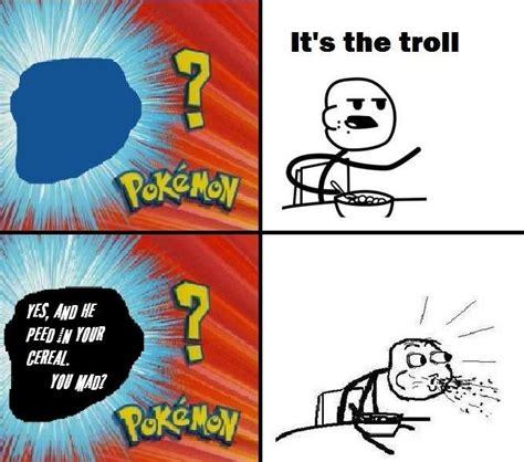 Troll Guy Meme - pics for gt cereal guy whos that pokemon