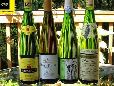 cliffs wine picks wines of alsace rieslings cliff s