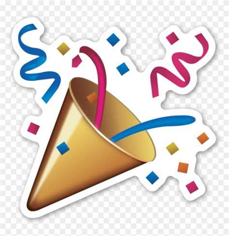 celebration emoji celebration clipart emoji emoji confetti png free