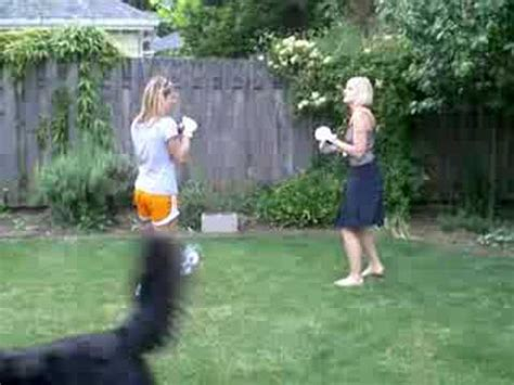 female backyard boxing backyard bbq brawl youtube