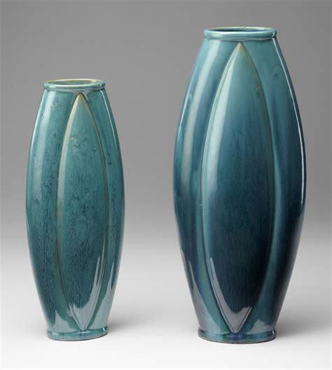 Blue Ceramic Vases by Large Zimmerman Blue Ceramic Vase By Cyan Design