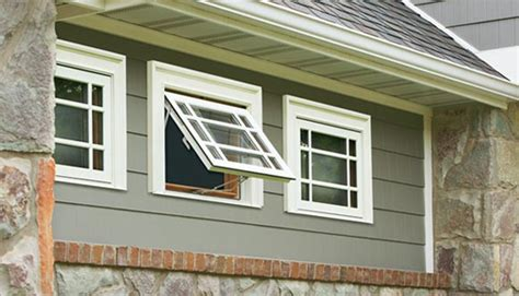what is a awning window what are awning windows types of windows weather shield