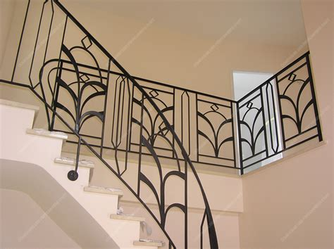 Fer Forge Stairs Design Res D Escalier En Fer Forg 233 D 233 Coratif Mod 232 Le Lys Escaliers Stair