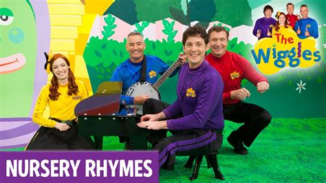 row your boat wiggles the wiggles nursery rhymes row row row your boat youtube