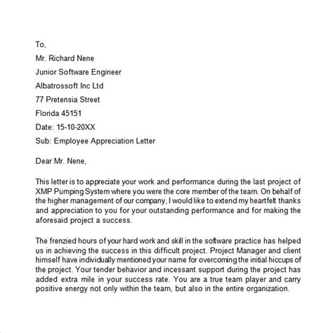 thank you letter to project team members thank you letter project team images letter format