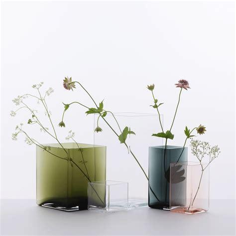 Iittala Vases by Iittala Ruutu Clear Vase 10 3 4 Iittala Ruutu Vases