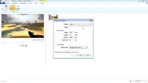 windows movie maker rendering tutorial tutorial rendering hd video in windows movie maker no