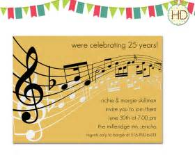 music notes invitations music sheet invitation by