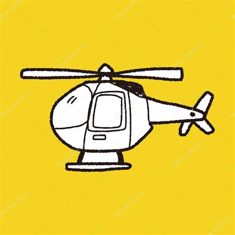 Helicopter Doodle Stock Vector 169 Hchjjl 71672771