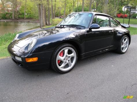 porsche midnight blue 1996 midnight blue metallic porsche 911 turbo 74624371