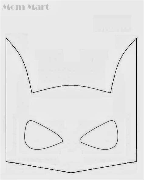 diy batman mask template 17 best ideas about batman mask on stencil