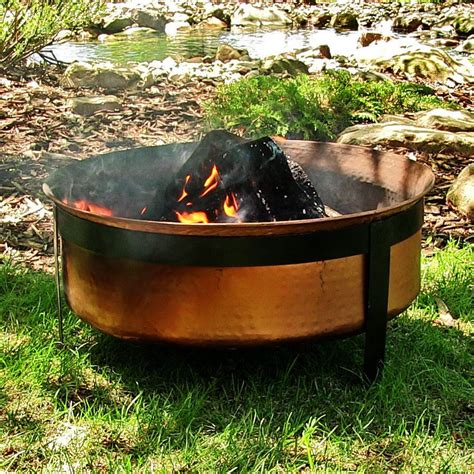fire pit backyard patio outdoor garden wood burning