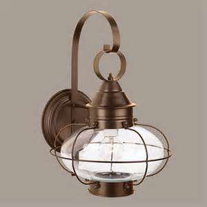 norwell lighting cottage bronze outdoor wall light