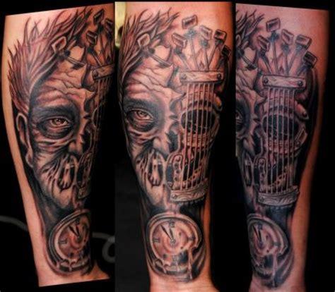 tattoo arm zombie zombie tattoo on side leg tattoo from itattooz