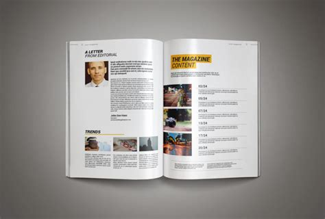 Magazine Template Design professional magazine template inkdesign age themes