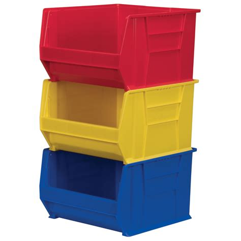 Plastic Shelf Bins by Plastic Storage Bins Plastic Totes Industrial Shelving