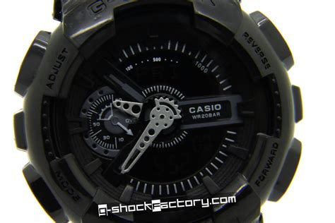 G Shock Ga 110 g shock ga 110 black by www g