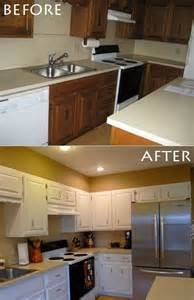 Diy Painting Kitchen Cabinets by Painted Kitchen Cabinets Diy Pinterest