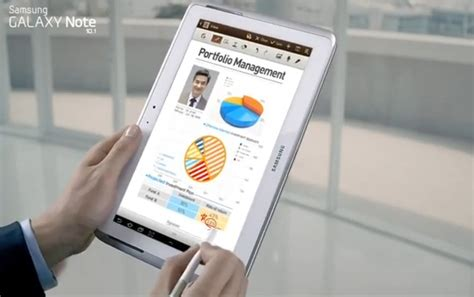 Samsung Galaxy Note 10 Commercial by Galaxy Note 10 1 Gets A Commercial Before A Release Date Liliputing