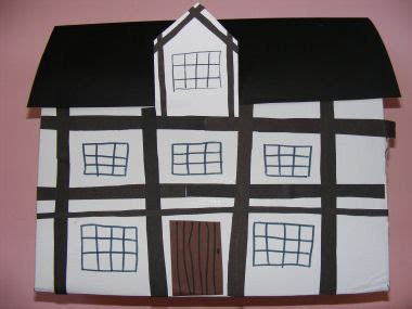 printable tudor house template was this angelica s kindergarten project for the home