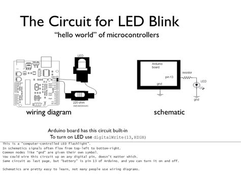 diagram the circuit for led blink flashlight wiring