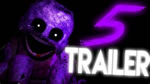 Trailer five nights at freddys 5 teaser fnaf 5 gameplay fan made