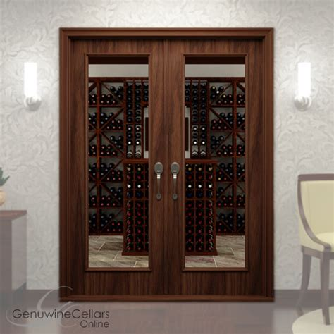 Wine Closet Doors Glass Wine Cellar Doors Genuwinecellarsonline