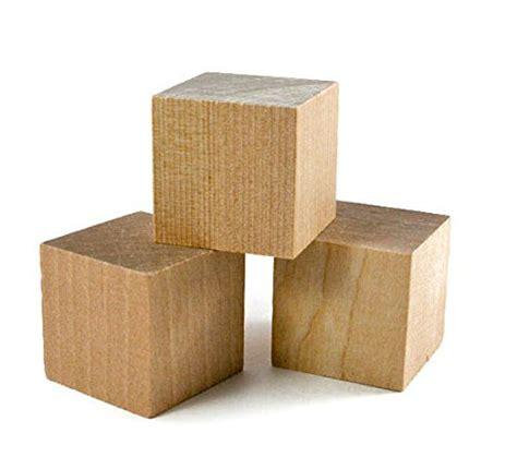 wooden cubes 16 pcs 1 5 craft wood cube blocks