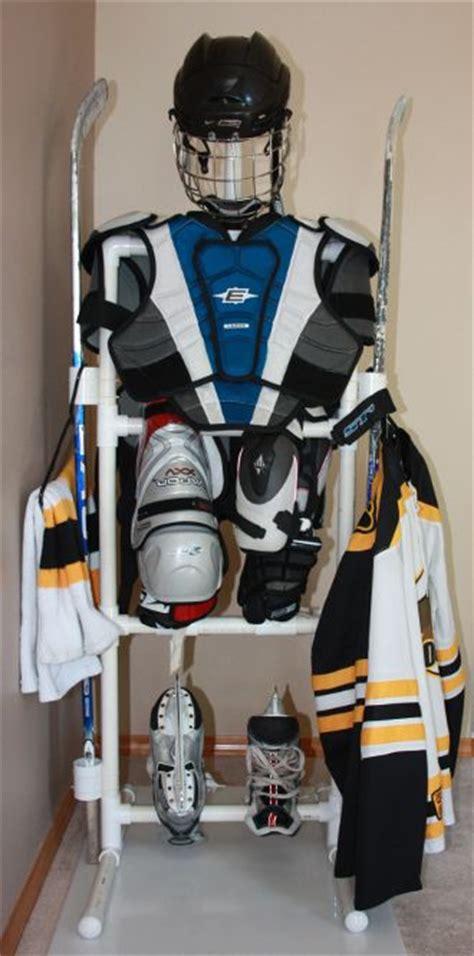 hockey equipment drying treee hockey drying rack ideas