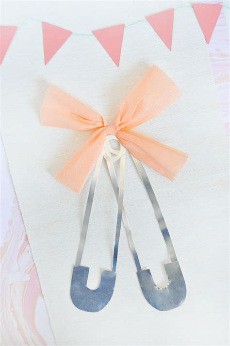 How To Make Pins For Baby Shower by Diy Oversize Pins For A Baby Shower Julep