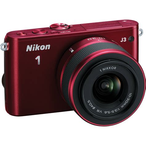 nikon 1 j3 mirrorless digital with 10 30mm lens 27639 b h