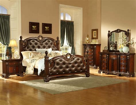 bedroom sets new orleans homelegance orleans bedroom set cherry b2168 bed set at