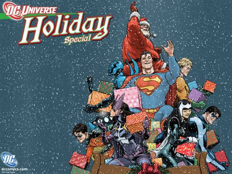 Happy Holidays Dc Nearlyweds by Dc Comics Images Happy Holidays Hd Wallpaper And