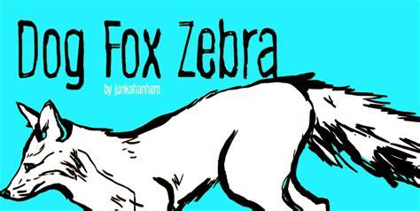 dafont zebra dog fox zebra dafont com