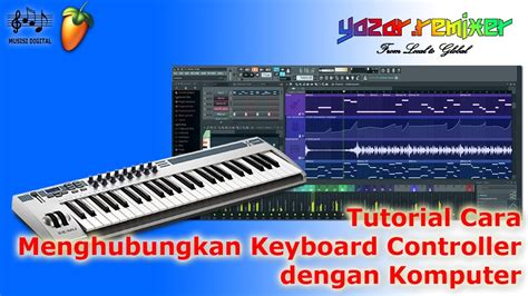 tutorial keyboard komputer tutorial cara menghubungkan keyboard controller dengan