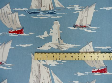 boat upholstery fabric online curtain fabric with boats on