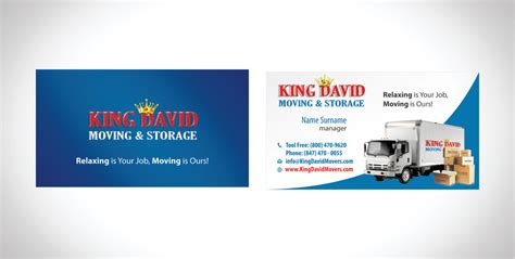 design business cards amp flyers for moving company freelancer