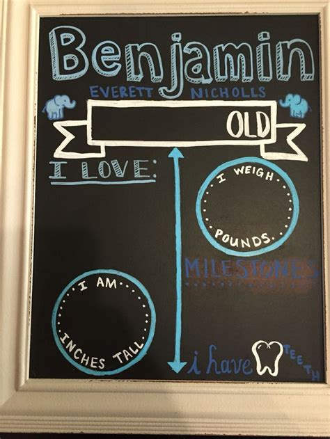 diy chalkboard sign template 10 best ideas about monthly baby chalkboard on