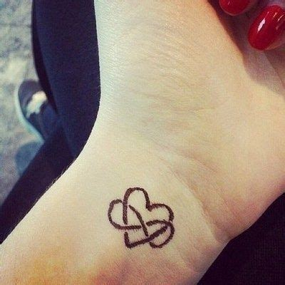 small heart tattoos on hand small ideas on for image