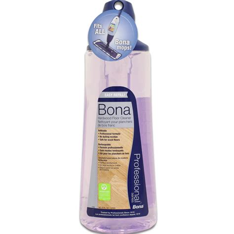Bona Hardwood Floor Cleaner Cartridge   Bona Spray Mop